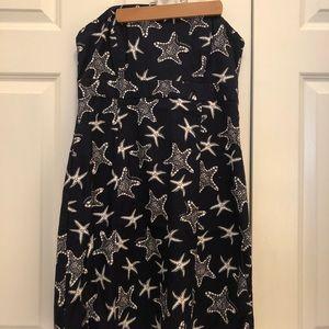 Vineyard Vines starfish dress with sash